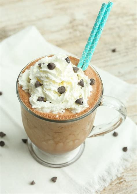 Twix frappuccino, a starbucks secret menu coffee recipe, is reminiscent of the popular chewy caramel/cookie chocolate bar. Healthy Mocha Frappuccino Recipe - Happy Healthy Mama in 2020 | Mocha frappuccino, Frappuccino ...