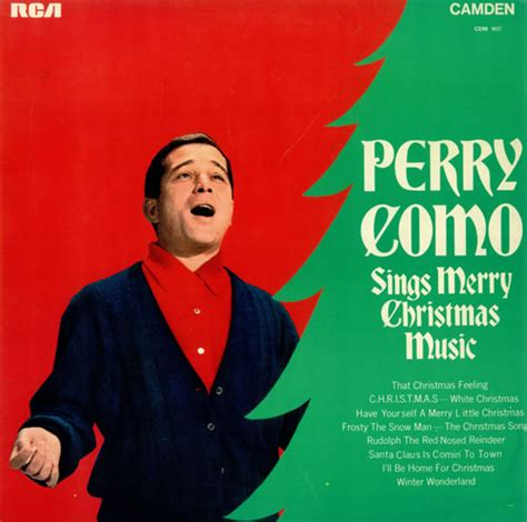 perry como frosty the snowman perry como sings merry christmas music uk vinyl lp album