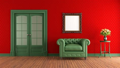 Colors That Jive Well With Red Rooms