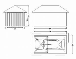 Dimension Garage 1 Voiture : garage m tallique cr pis 1 porte toit en croupe ~ Dailycaller-alerts.com Idées de Décoration