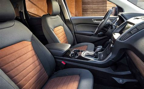 ford edge interior colors 2020 ford edge sel colors redesign interior release