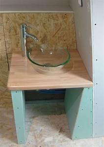Idee Meuble Tv Fait Maison : meuble vasque fait maison ~ Melissatoandfro.com Idées de Décoration