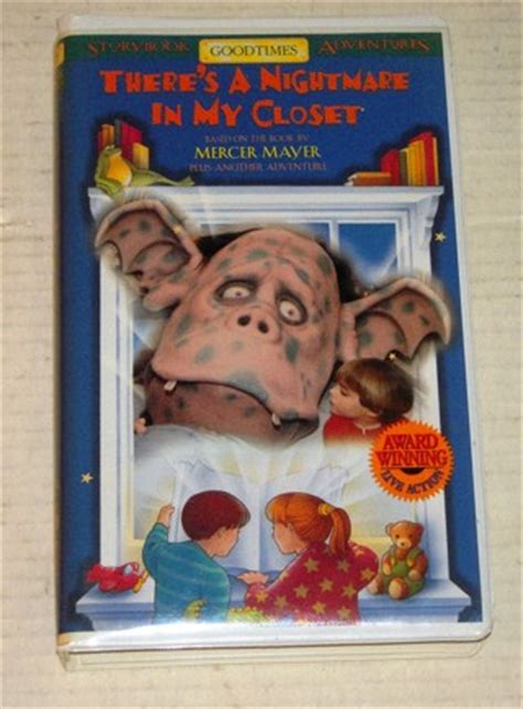 nightmare in my closet free there s a nightmare in my closet vhs vhs