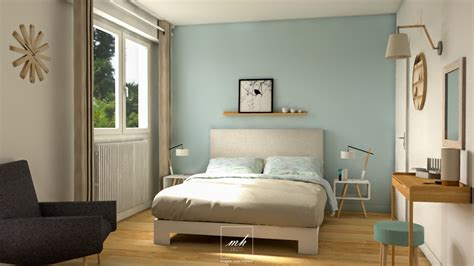 chambre adulte bleu bleu chambre feng shui