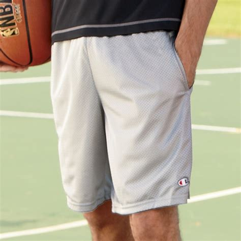 champion  long mesh shorts