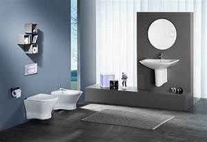 salle de bain design photo 6 25 du design un miroir With photos salle de bain design