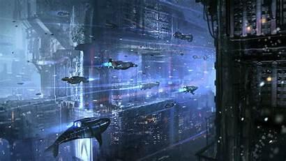 Cyberpunk Sci Fi Fiction Science Artwork Wallpaperup