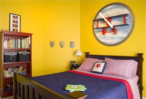 Kids Room Aircraft Airplane Interior Ideas Modern