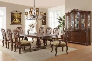 formal dining room sets marisol cherry finish formal dining room table set