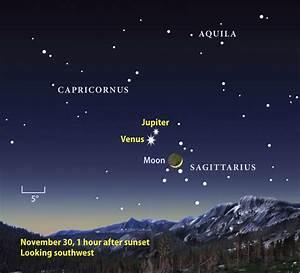 Sky-event alert: Venus joins Jupiter after sunset ...