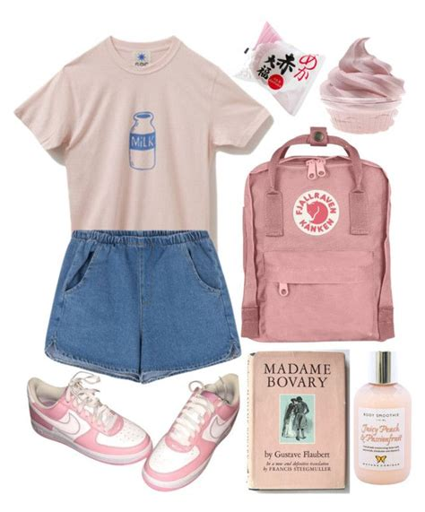 U0026quot;Pink aestheticu0026quot; by wannabea liked on Polyvore featuring NIKE and Moyana Corigan   Aesthetic ...
