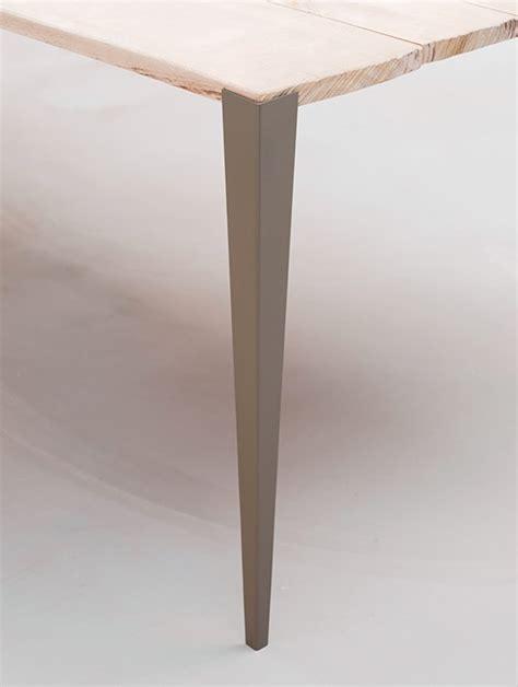 pied pour bureau plateau tol x fabricant de pieds de table et plateau en bois design