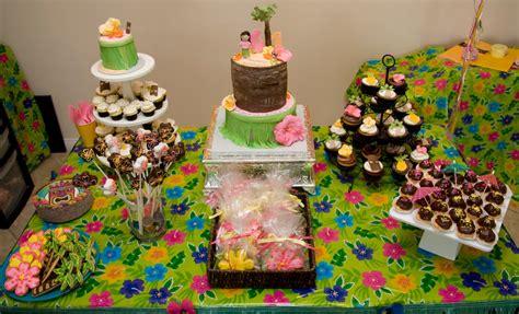 family fun and recreation hawaiian birthday party