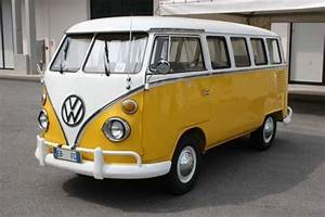 Yellow Vw Buses And Campers