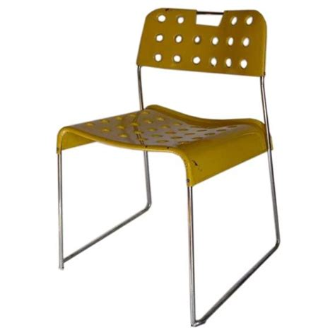chaises jaunes rodney kinsman quot omkstak quot chairs for sale at 1stdibs