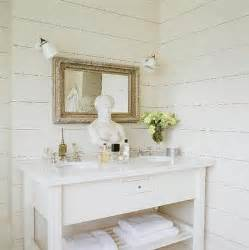 Pickled Oak Cabinets Wall Color by Double Washstand Ideas Cottage Bathroom