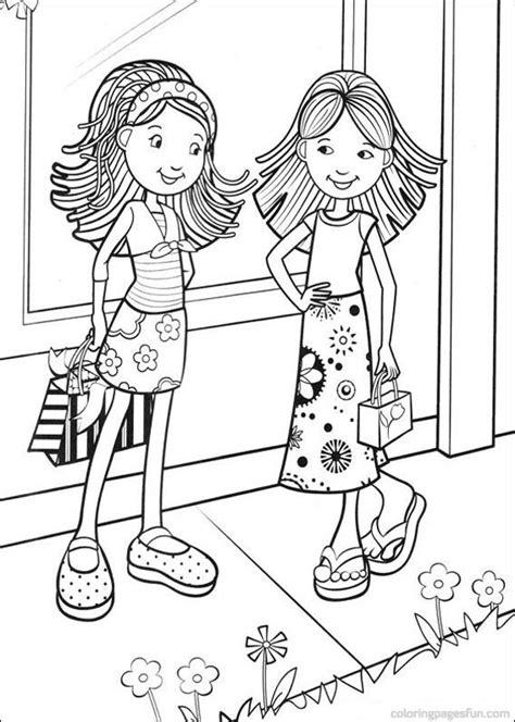 Dessin de deux meilleure amie facile. 95 dessins de coloriage fille à imprimer sur LaGuerche.com - Page 8
