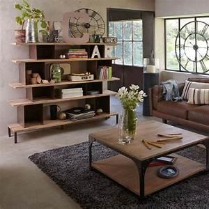Décoration De Salon : style industriel quels sont les 5 produits avoir ~ Nature-et-papiers.com Idées de Décoration
