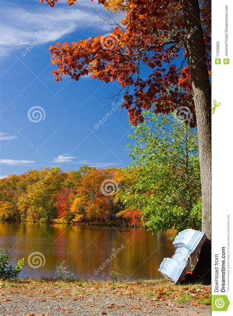 Fall Landscape Autumn Lake