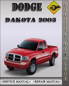 2003 Dodge Dakota Factory Service Repair Manual