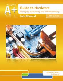 Lab Manual For Andrews U0026 39  A  Guide To Hardware  6th
