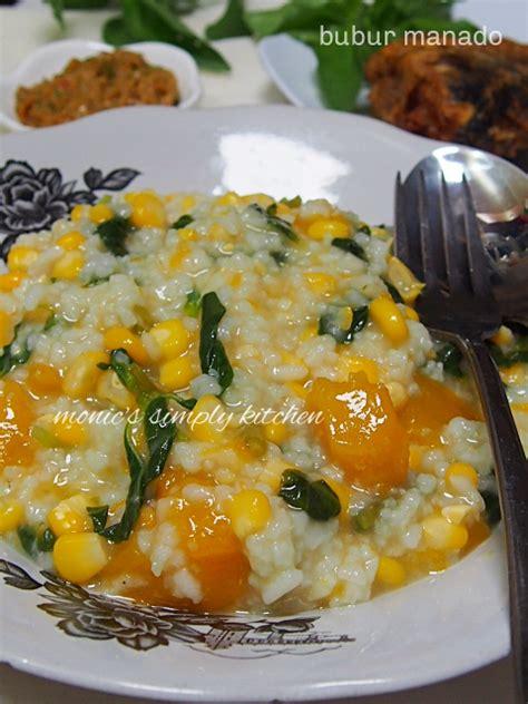 bubur manado praktis monics simply kitchen