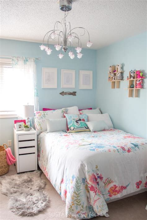 Tween Bedroom Ideas In Teal And Pink #mycolourjourney