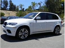 Export New 2013 BMW X5 M WHITE ON RED