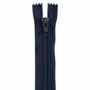 14'' Poly All Purpose Zipper Navy Blue - Discount Designer