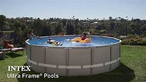 piscine intex ultra frame piscines tubulaires rondes With piscine intex ultra frame rectangulaire