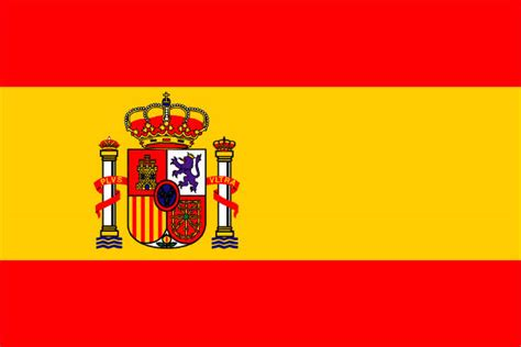 Gambar Bendera Negara Spanyol  Gambar Bendera Negara