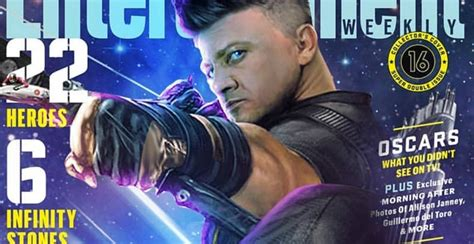 Jeremy Renner Shares New Hawkeye Cover For Infinity War
