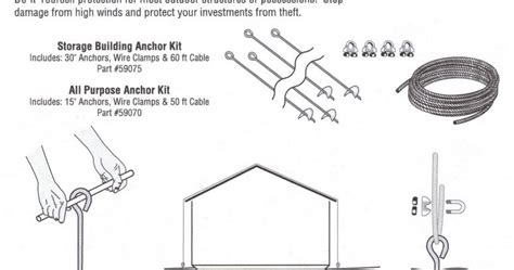 shed anchor kit bunnings auger valve image shed anchor kit