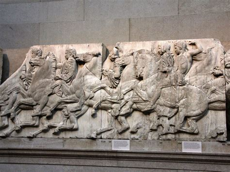 parthenon sculptures elgin marbles excuse    greek