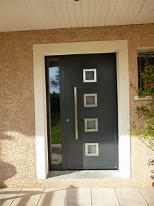 porte d entree design atlubcom With porte d entrée alu avec plan de travail sur mesure salle de bain