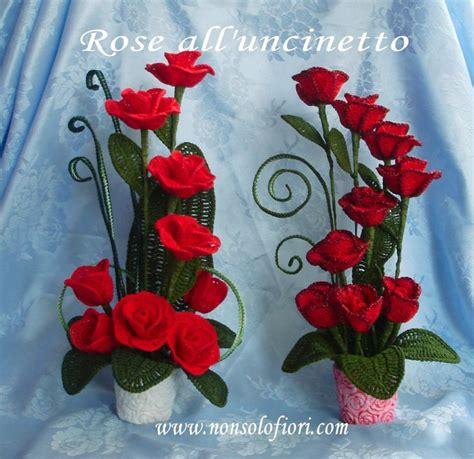 composizioni fiori uncinetto 178 best fiori all uncinetto crochet flowers images on