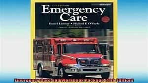 Brady Emergency Care 12th Edition Workbook  U0026gt  Cbydata Org