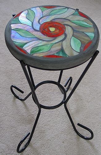 stained glass table ls glass tables stained glass and tables on pinterest