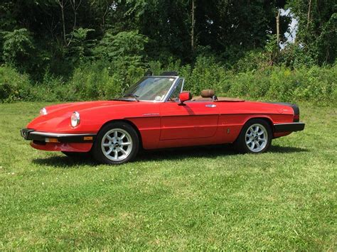 Alfa Romeo Spider Veloce by Hemmings Find Of The Day 1983 Alfa Romeo Spider Veloce