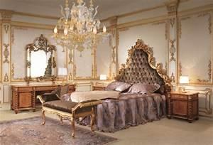 Moderne Barock Möbel : barock schlafzimmer einrichtung wie die adligen schlafen ~ Sanjose-hotels-ca.com Haus und Dekorationen