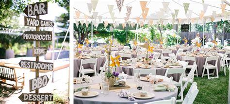 Bbq Backyard Wedding by Diy Backyard Bbq Wedding Reception Snixy Kitchen