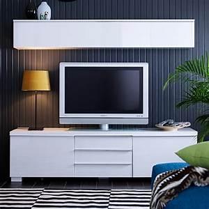 Banc Tv Suspendu : meuble tv ikea ~ Teatrodelosmanantiales.com Idées de Décoration