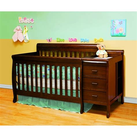 crib and changer combo athena 3 in 1 crib and changer combo espresso
