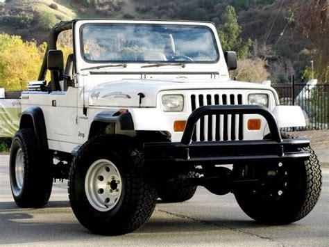 white jeep wrangler 2 door 1989 2 door soft top white jeep wrangler jeeps