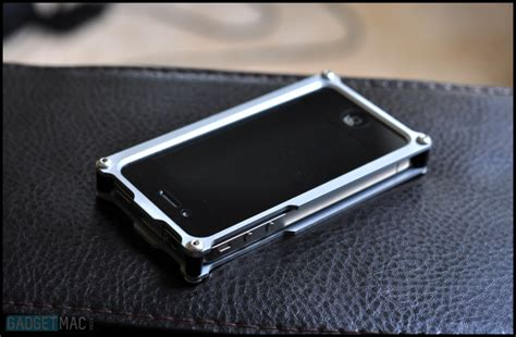 metal iphone karas kustoms aluminum for iphone 4 gadgetmac