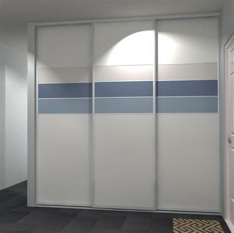 portes de placard 3 vantaux coulissant portedeplacard