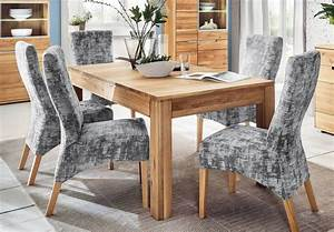 Esstisch Massivholz Günstig : massivholz esstisch wildeiche mit 3 einlegeplatten von ~ Watch28wear.com Haus und Dekorationen