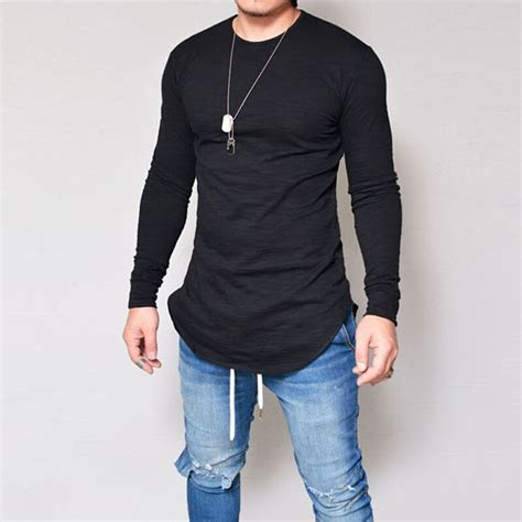 buy new year men fashion online now at zalora hong kong new men casual t shirt cotton sleeve o neck silm fit
