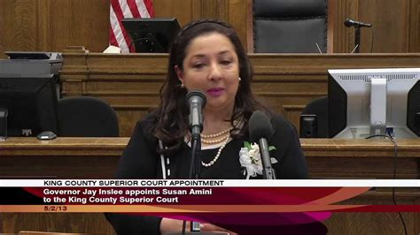 governor appoints susan amini  king county superior