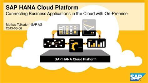 hana cloud sap hana cloud platform connectivity